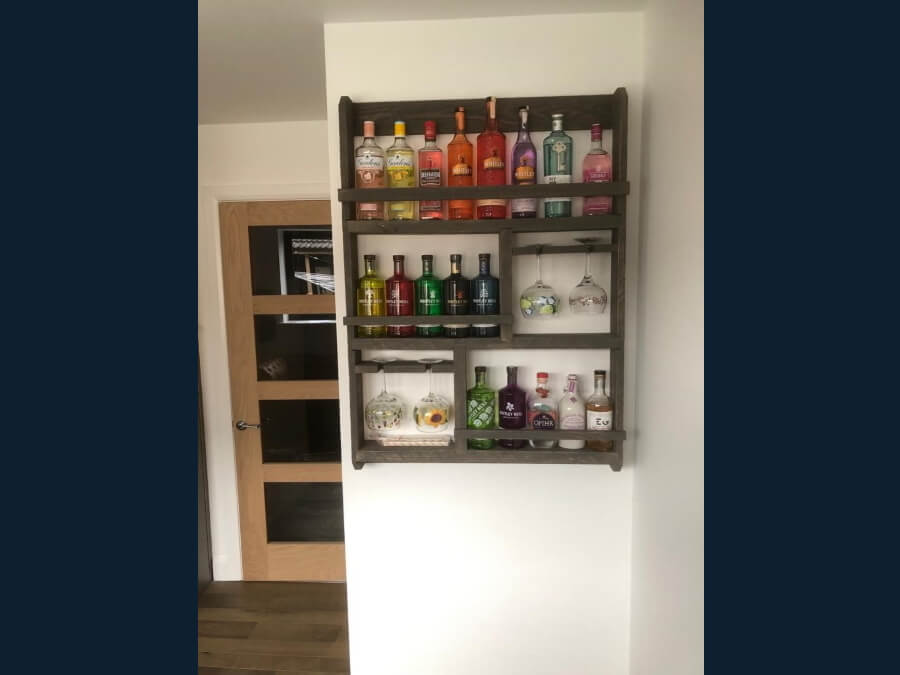 Gin shelf 2