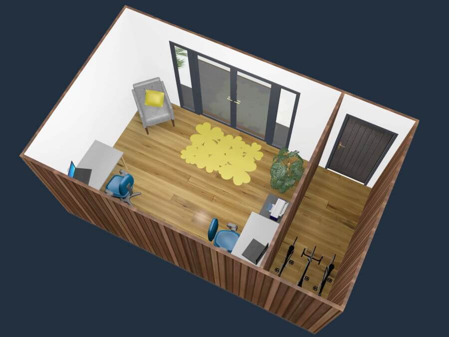 Garden office 5