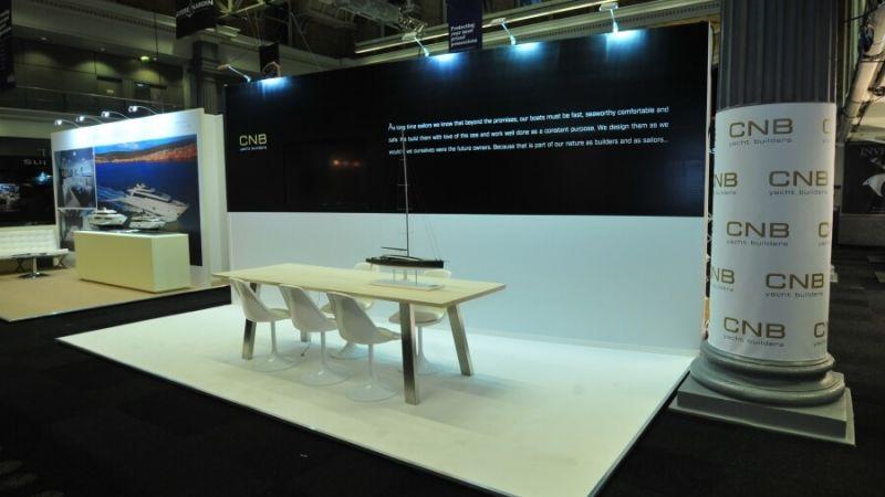 lyjapcs exhibition stand - cnb