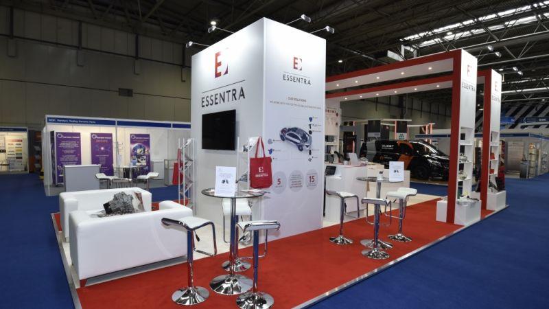Automechanika exhibition stand - Essentra
