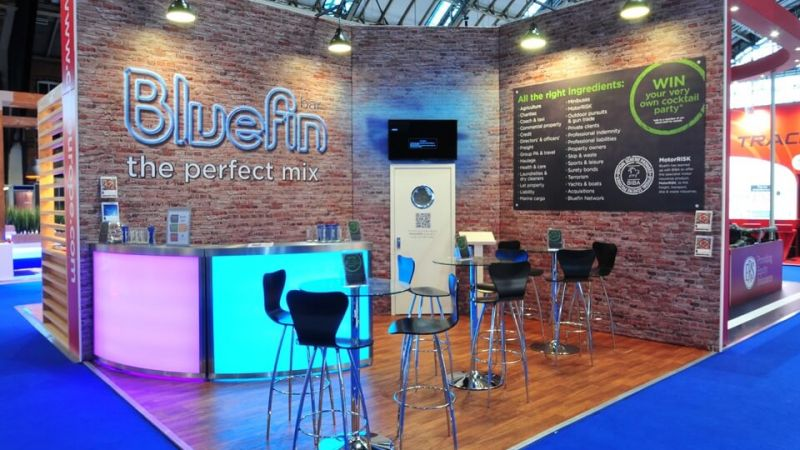 Exhibition stand for Bluefin