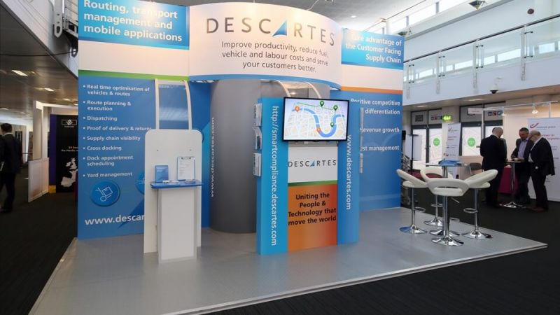 Exhibition stand for Descartes
