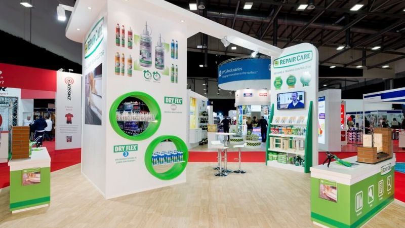Exhibition stand for Repair Care