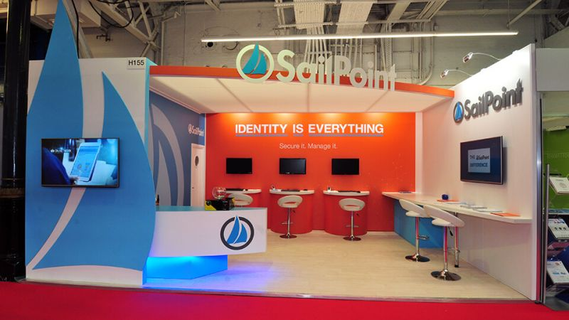 Sailpoint exhibition stand at InfoSecurity Europe