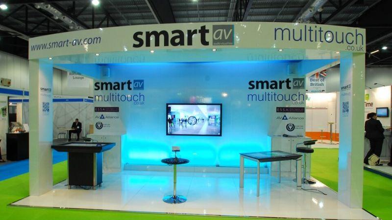 Exhibition stand for Smart AV
