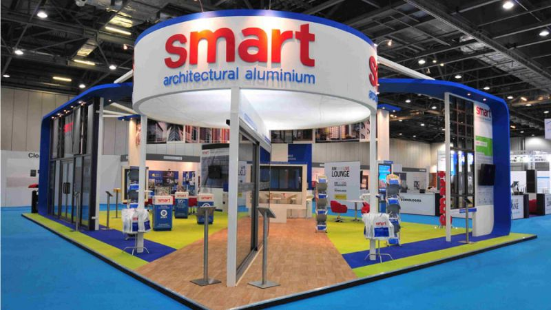 Exhibition stand for Smart Systems