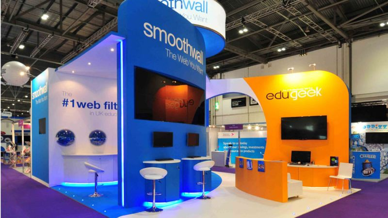 Exhibition stand for Smoothwall