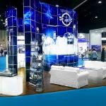 Glass Exhibition Stand Hire for Casper