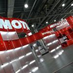 Modular exhibition stand hire - Motul