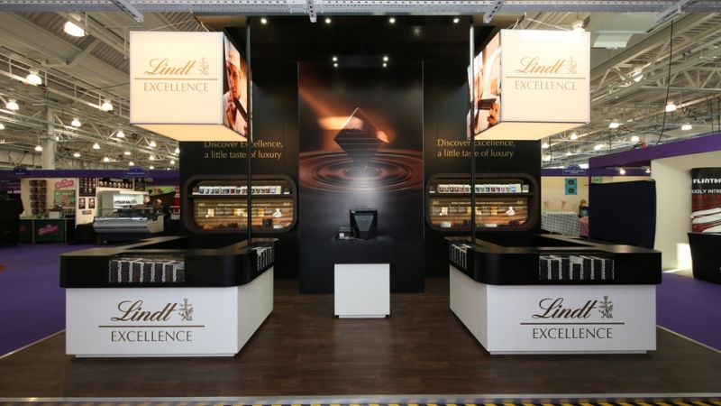 Exhibition stand for Lindt