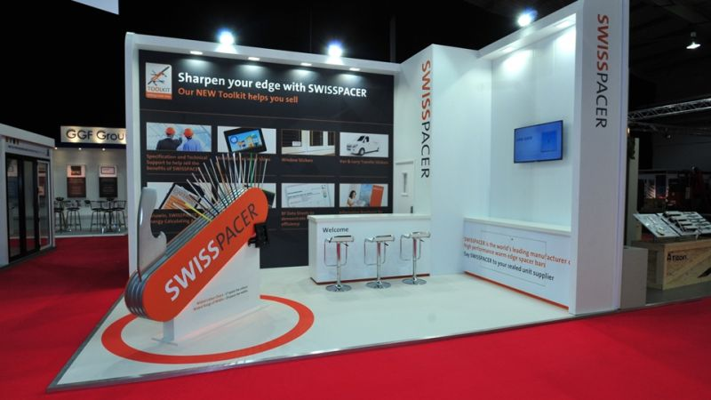 Exhibition stand for Swisspacer