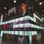 Glass exhibition stand - Amedia