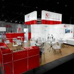 Glass Trade Show Stand Hire for IES