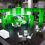 Modular exhibition stand - Socar