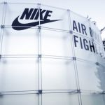 Glass outdoor exhibition system - Nike