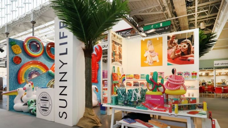 Sunnylife exhibition stand at Top Drawer (2)