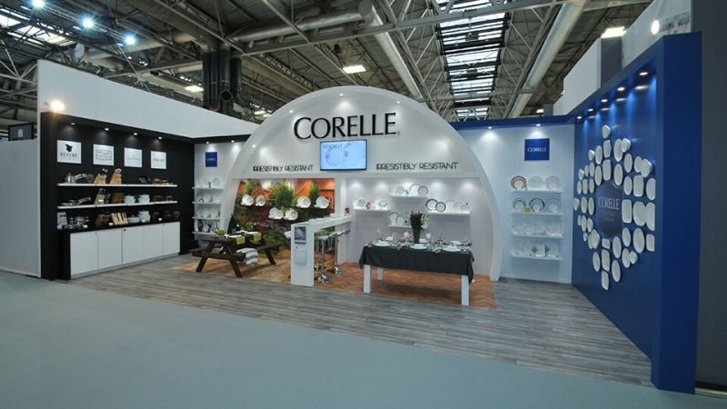 World Kitchens exhibition stand at Spring Fair