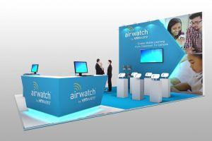 Exhibition stand design - Airwatch