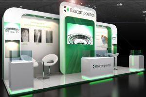Exhibition stand design - Biocomposites