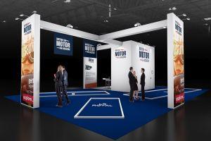 Exhibition stand design - British Motor Museum