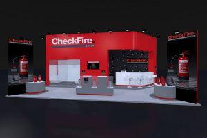 Exhibition stand design - CheckFire