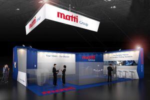 Exhibition stand design - Matti Group