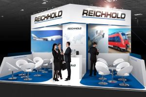 Exhibition stand design - Reichhold