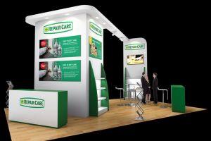 Exhibition stand design - Repair Care