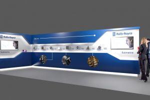 Exhibition stand design - Rolls Royce