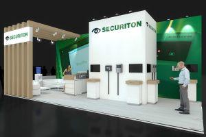 Exhibition stand design - Securiton