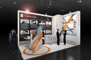 Exhibition stand design - Swisspacer