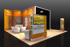 Exhibition stand design - Syngenta