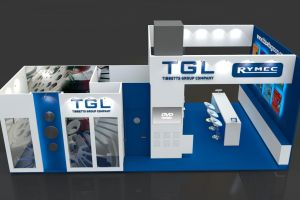 Exhibition stand design - Tibbets Group