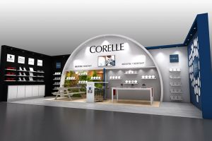 Exhibition stand design for World Kitchens