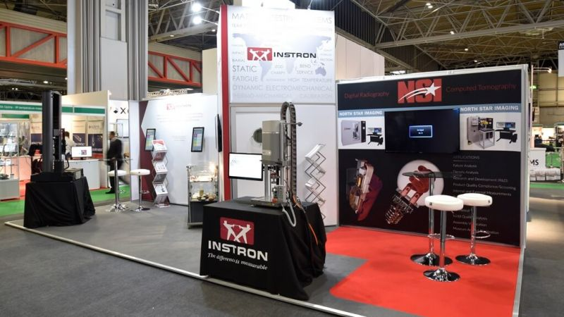 Advanced Engineering exhibition stand - Instron