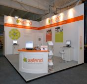 3x3 Exhibition Stand Hire D