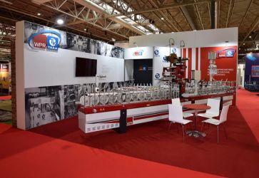 7m x 6m Linx modular exhibition stand - WPR Taka