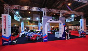 Custom exhibition stand hire