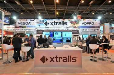 11m x 5m Linx exhibition stand - Xtralis