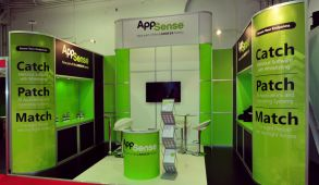 Modular exhibition stand hire - AppSense