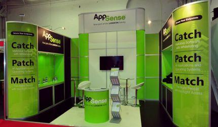 Modular exhibition stand hire - AppSense