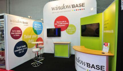 Modular exhibition stand hire - Windowbase