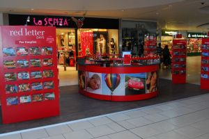 Shopping centre display - Red Letter Days 2