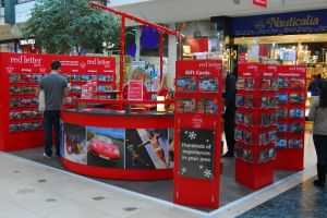 Shopping centre display - Red Letter Days 3