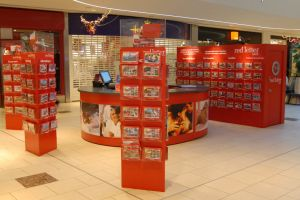 Shopping centre display - Red Letter Days
