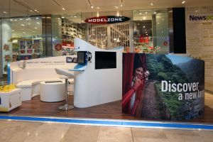Shopping centre display - Rosetta Stone 2