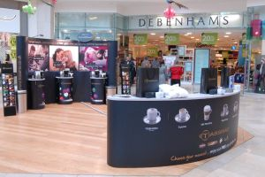 Shopping centre display - Tassimo 2